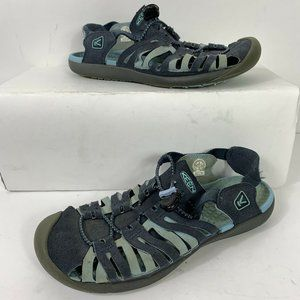 KEEN Whisper Blue Hiking Sandal Wm Sz US 8 EU 38.5